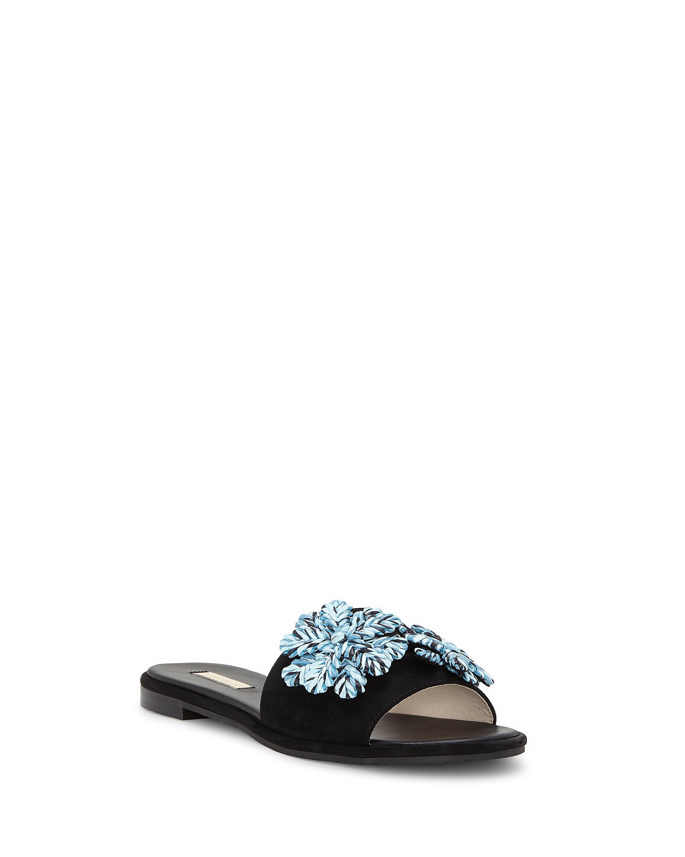 Louise et Cie Chaucer Linen Raffia Ornament Sandals hgyolc2vZE