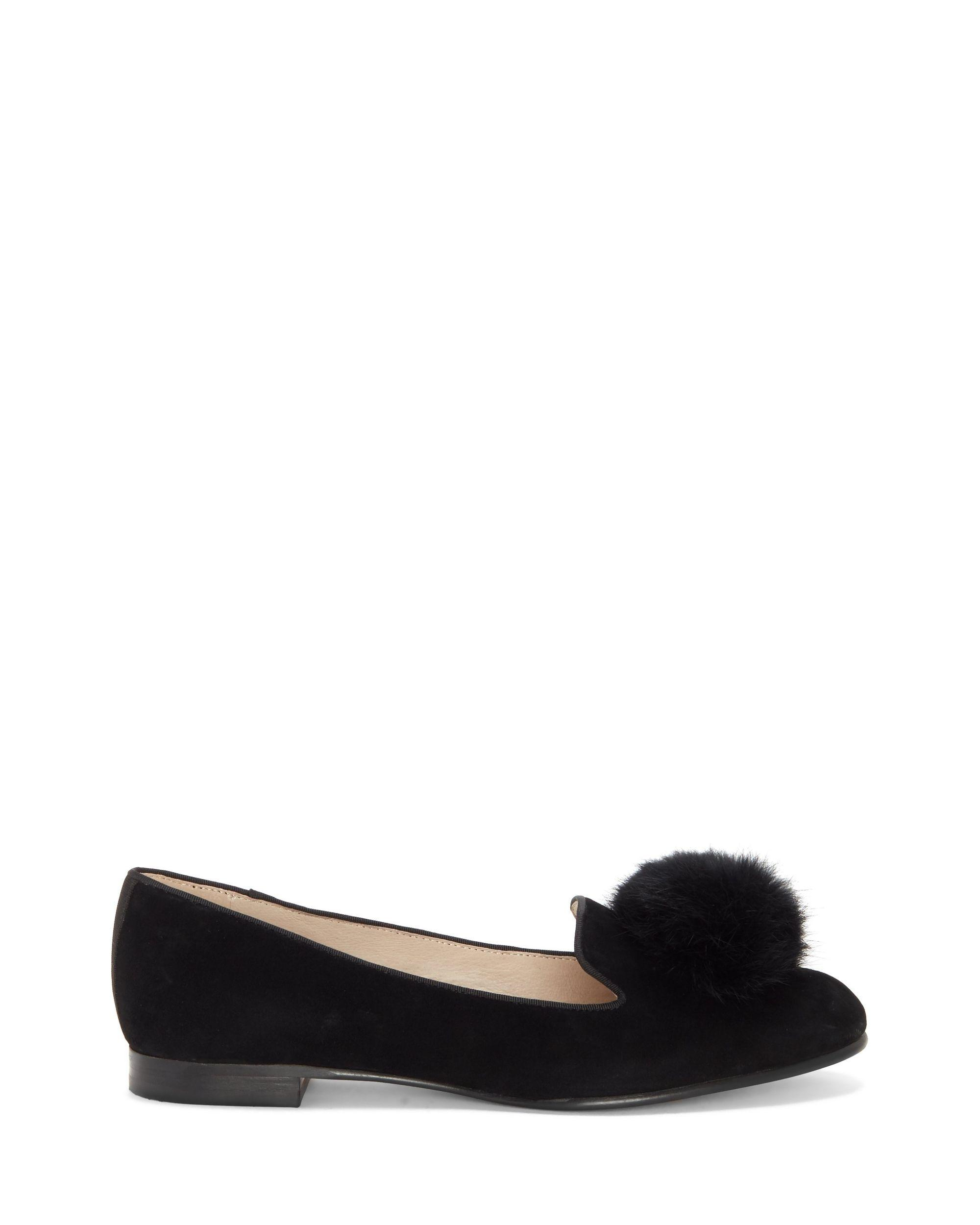 00479e5a013 Lyst - Vince Camuto Louise Et Cie Andres – Pompom Loafer in Black - Save 53%