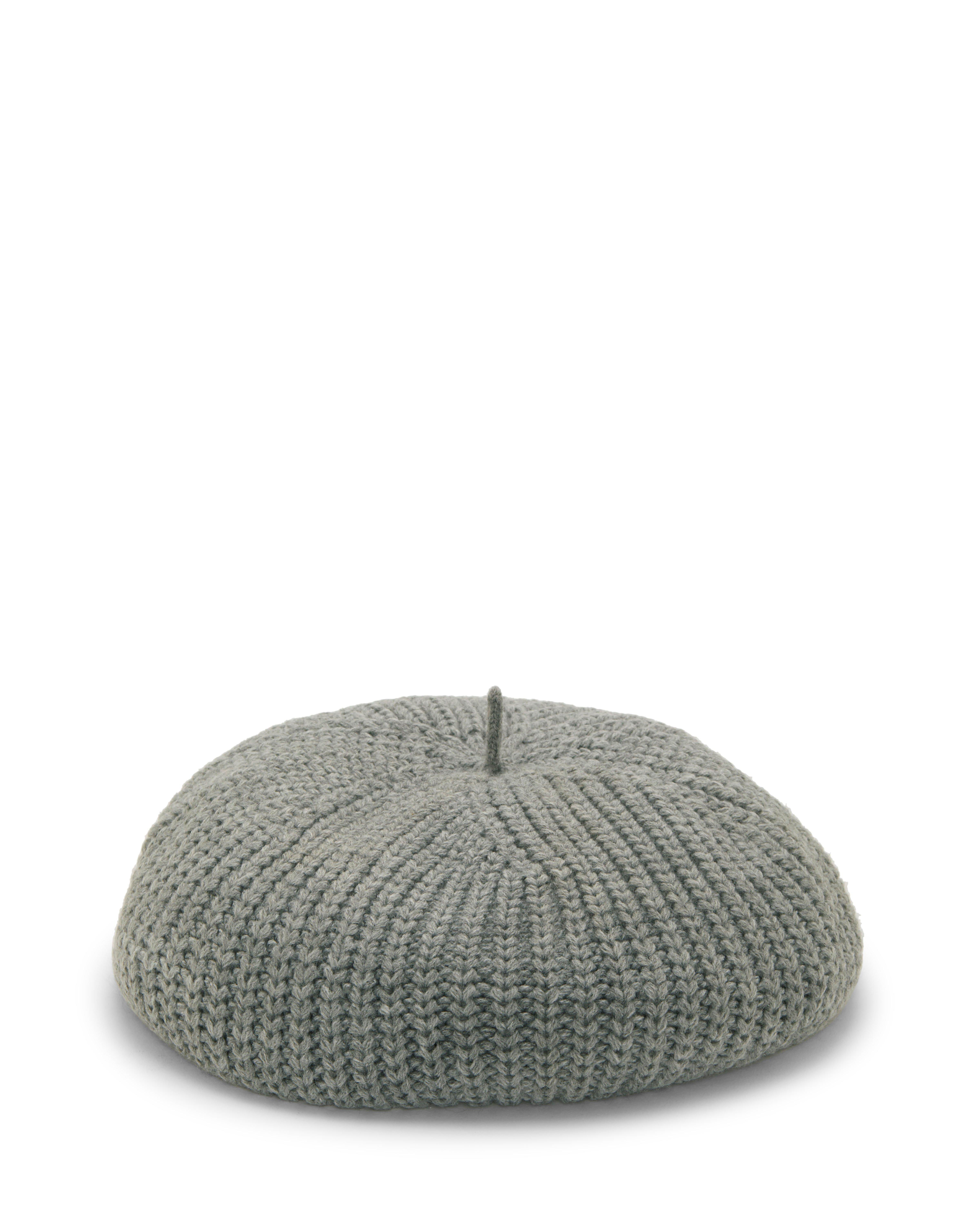 6e6c61c38b6 Lyst - Vince Camuto Rib-knit Beret in Gray