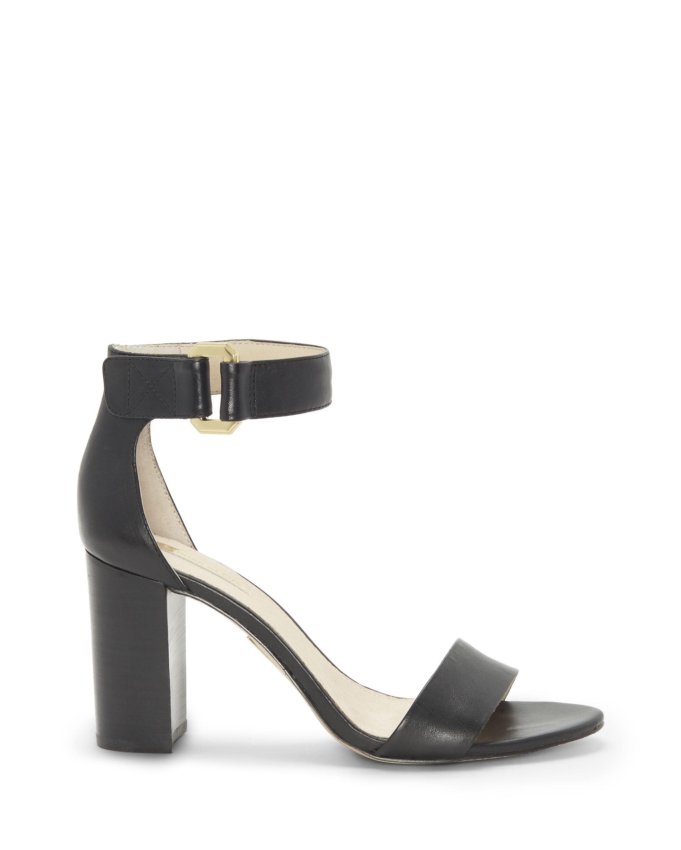 Louise et Cie Keall Two Tone Leather & Suede Slingback Block Heel Sandals GSV24vzbj5