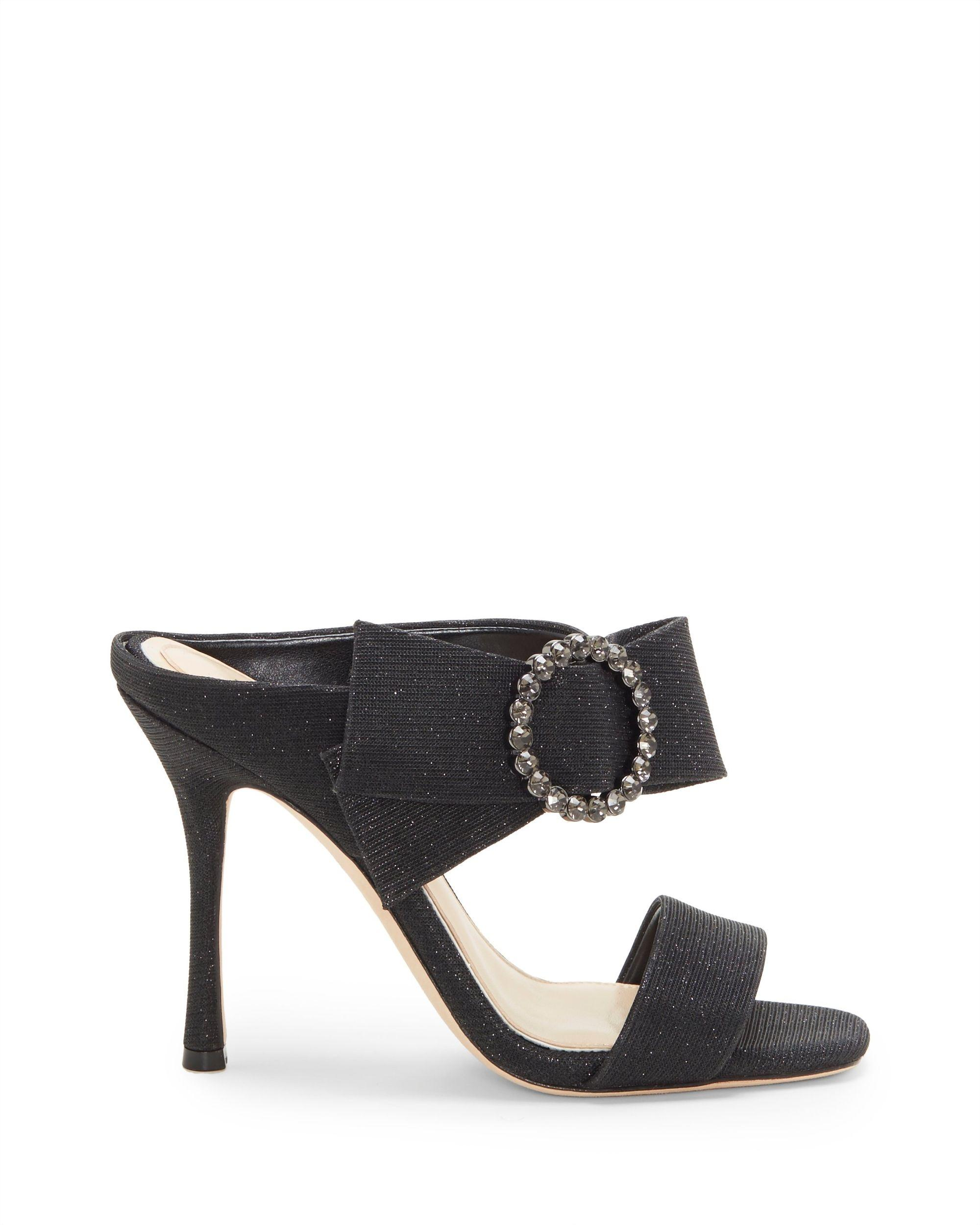 1d8b5d507fd Lyst - Vince Camuto Imagine Westcott – Embellished Dress Mule in Black -  Save 14%