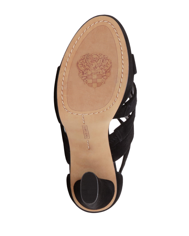 Lyst Vince Camuto Catyna Platform Sandal In Black