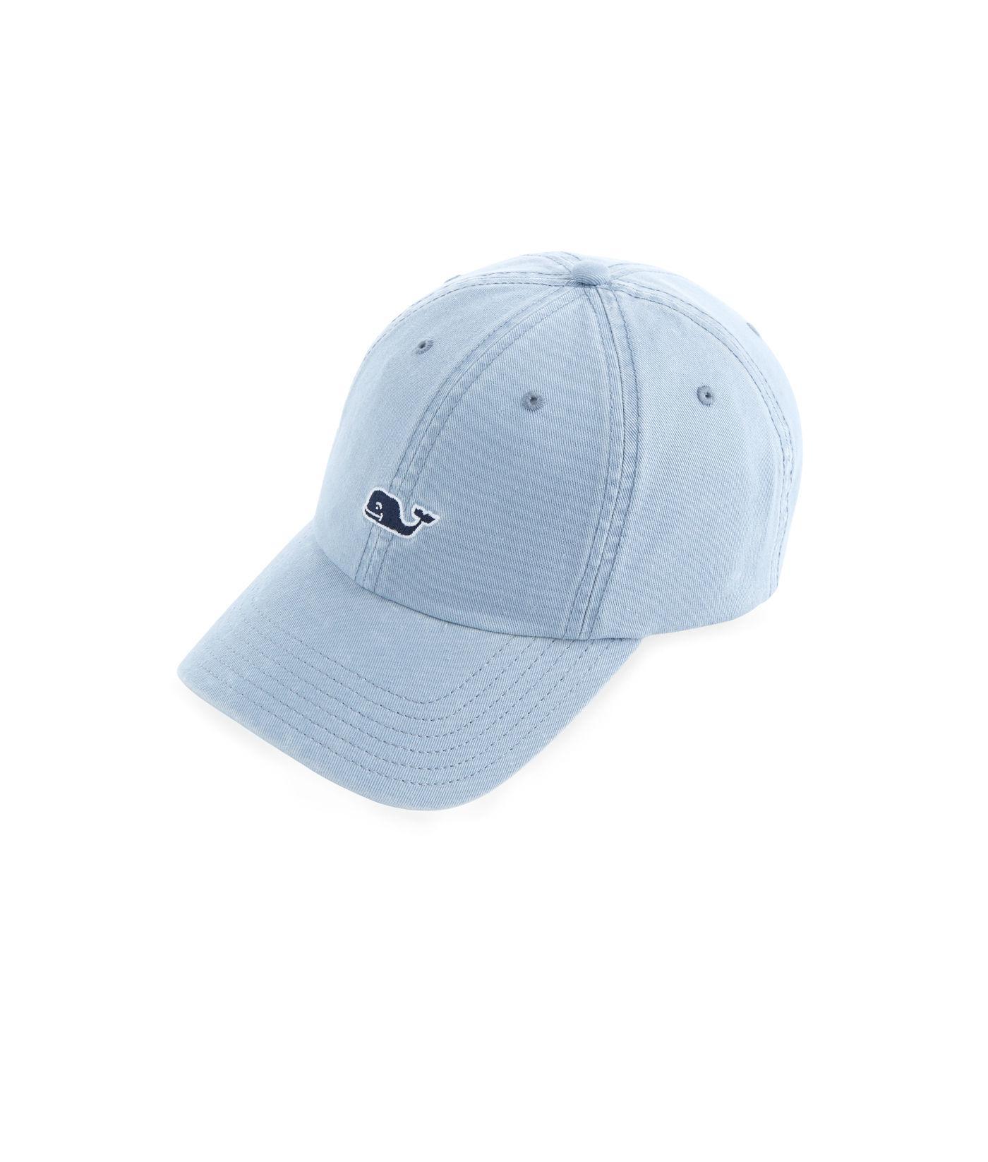 33fbb2700f0 Lyst - Vineyard Vines Whale Logo Baseball Hat in Blue for Men