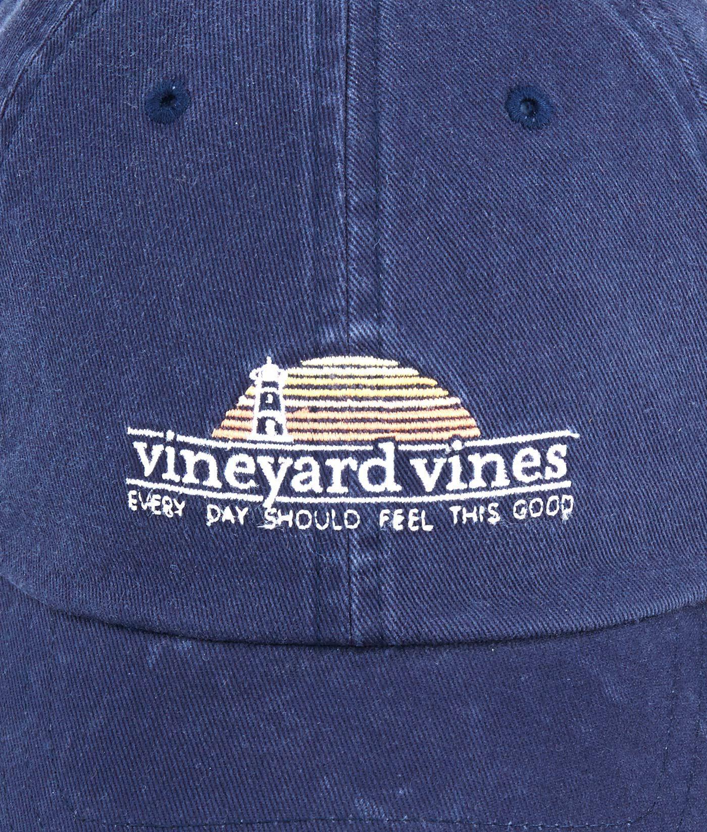 Vineyard Vines - Blue Sunset Lighthouse Classic Twill Hat for Men - Lyst. View  fullscreen e34c899d5477