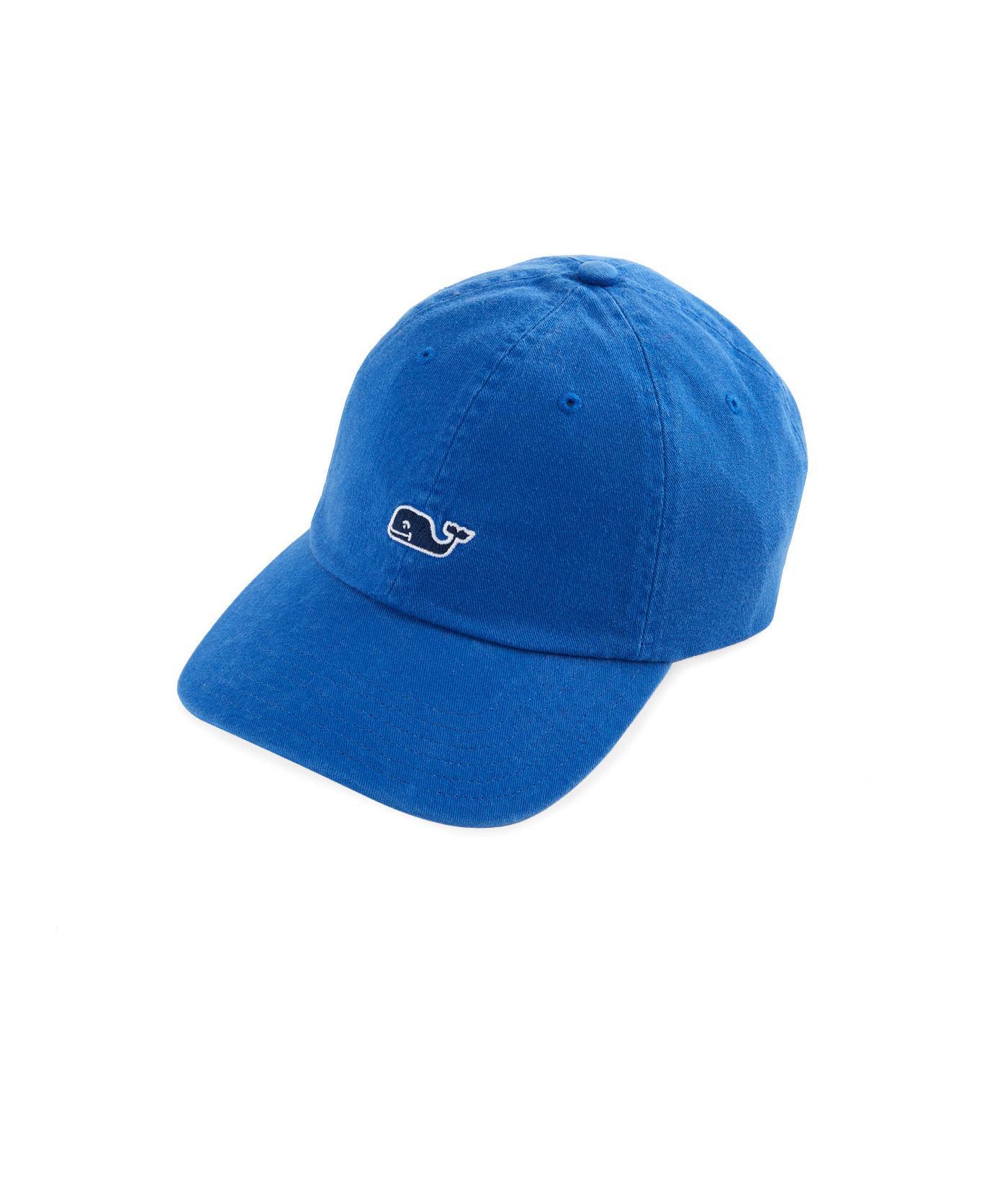 c5a60da47b5 Lyst - Vineyard Vines Classic Twill Baseball Hat in Blue