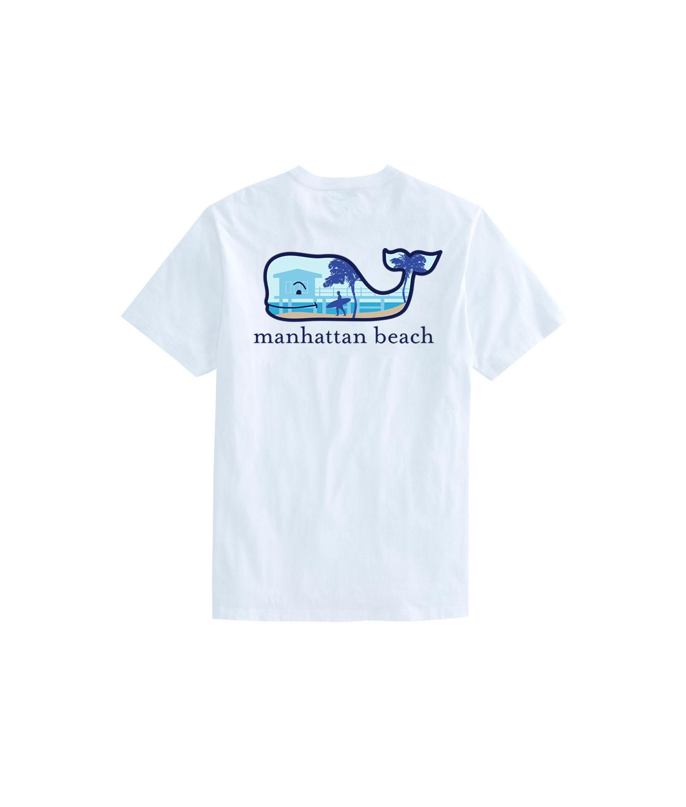 Lyst Vineyard Vines Short Sleeve Manhattan Beach Surfer Whale Fill