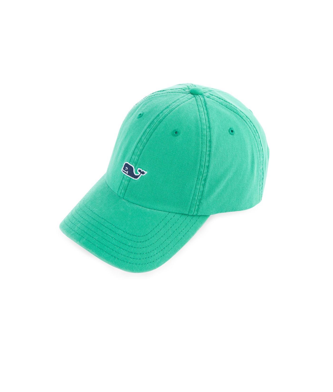 83c64152c56 Lyst - Vineyard Vines Whale Logo Baseball Hat in Green for Men