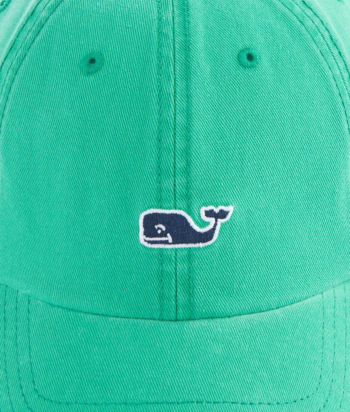 ec1d68553f3 Lyst - Vineyard Vines Whale Logo Baseball Hat in Green for Men