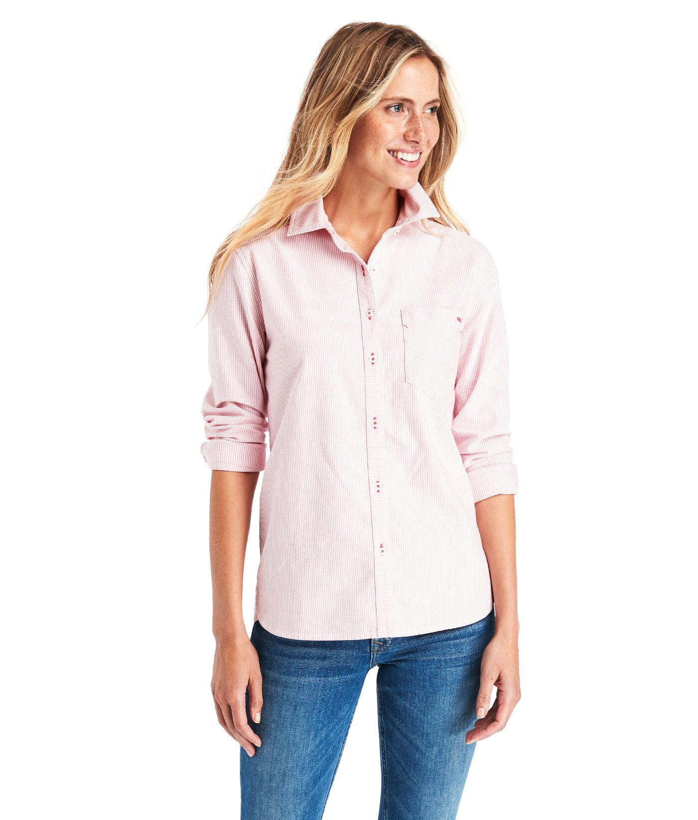 Vineyard Vines Cotton Chilmark Relaxed Oxford Button Down