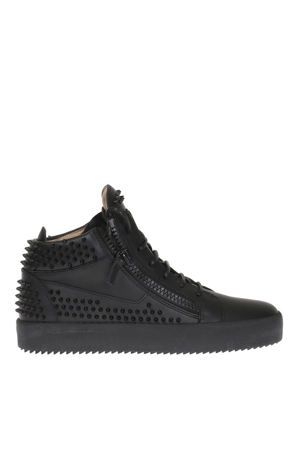 Giuseppe ZanottiStudded May London High-Top Sneakers MfFixMiAP