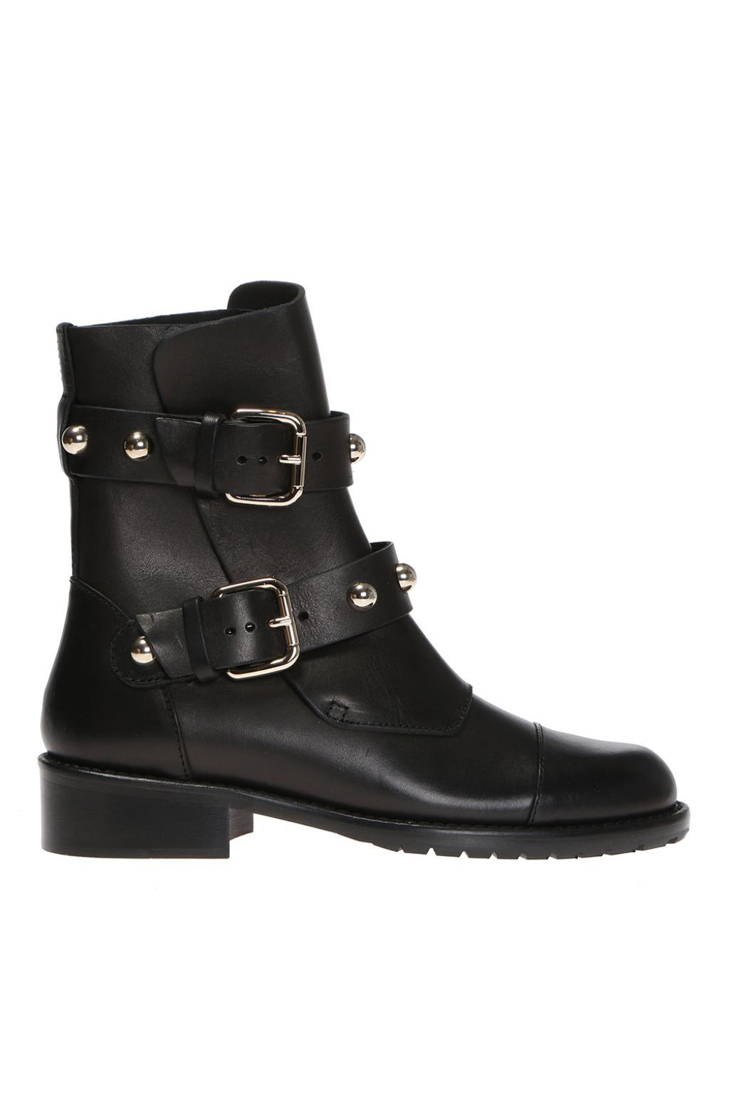 online cheap quality Red Valentino buckle studded ankle boots 100% authentic cheap price xlbAPtrSK