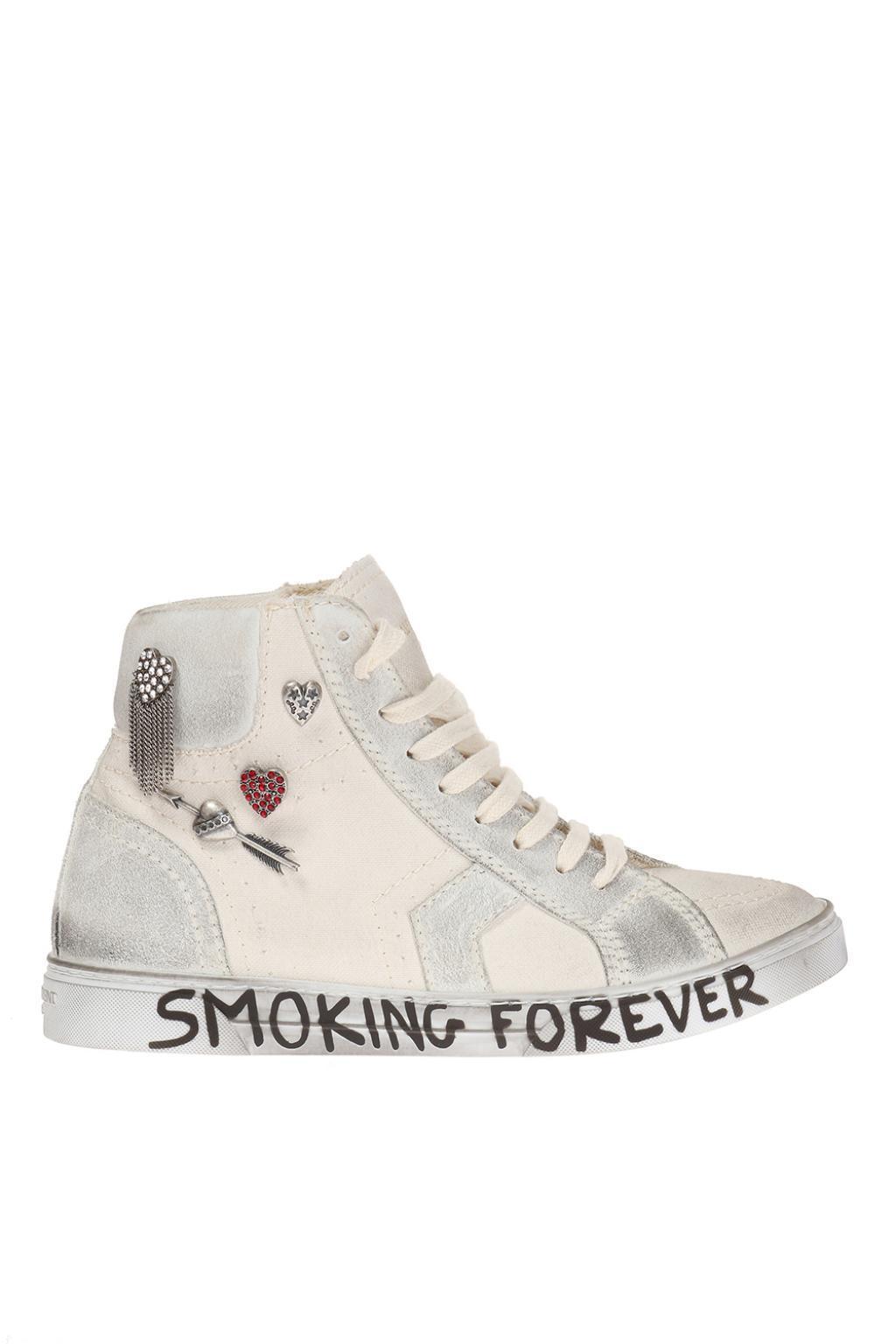 Joe high-top sneakers - White Saint Laurent MYJb9DfW