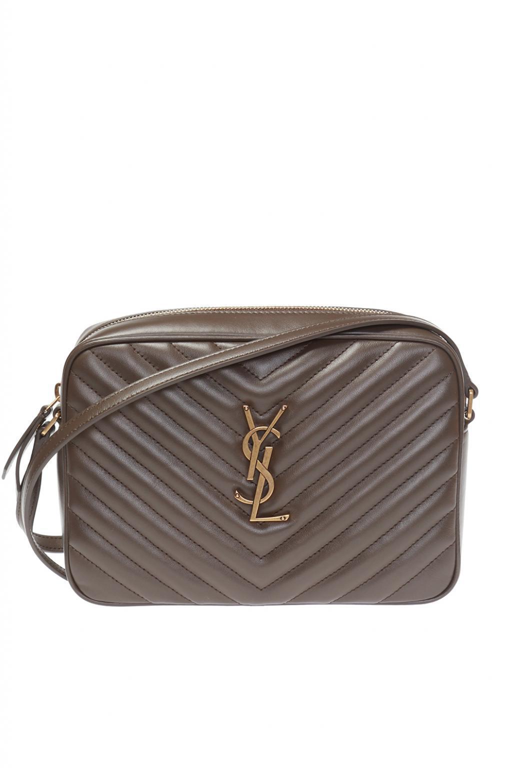 Lyst - Saint Laurent  low  Shoulder Bag in Brown 8787e9228d