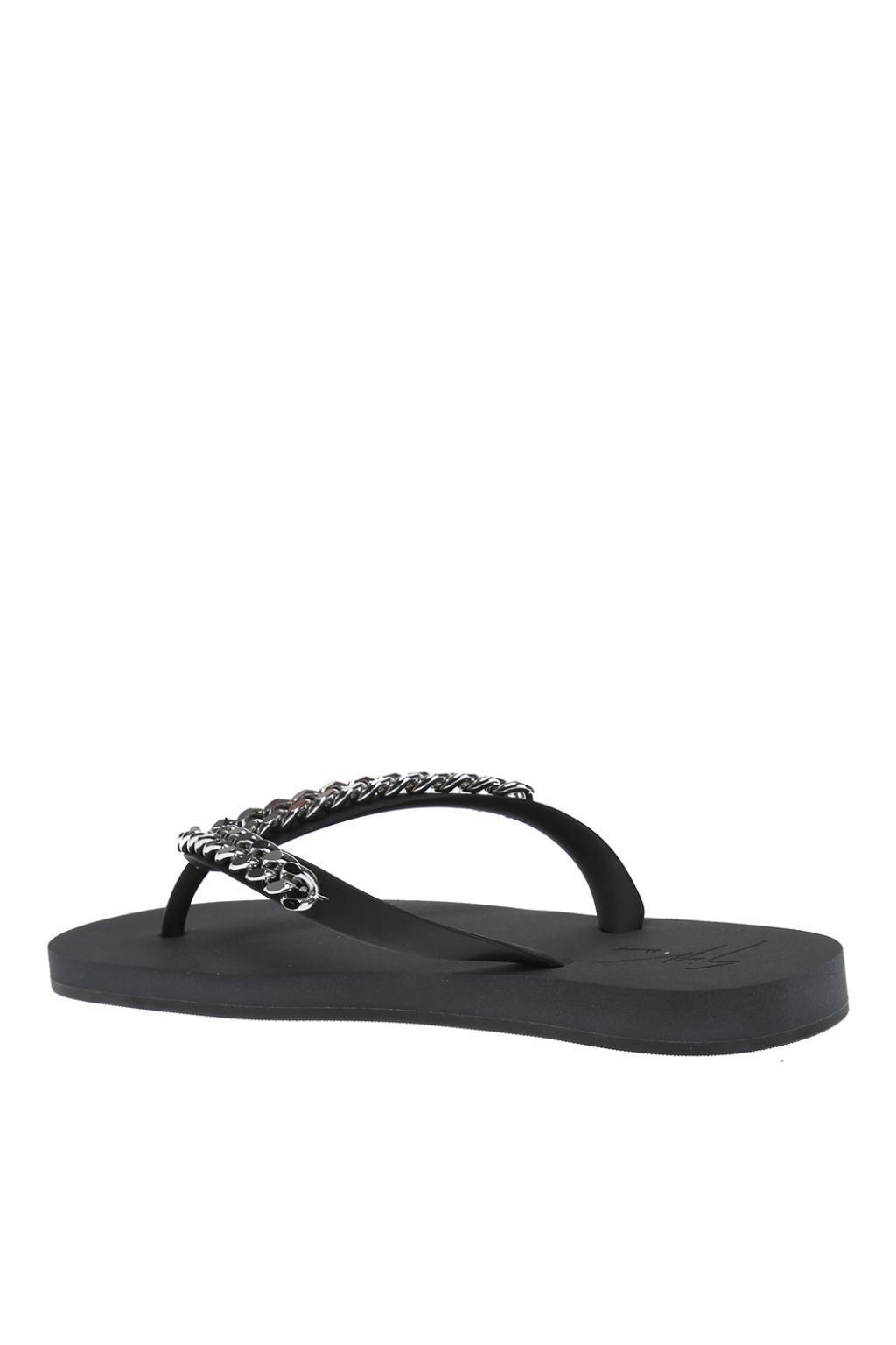 Giuseppe Zanotti Florida chain flip flops