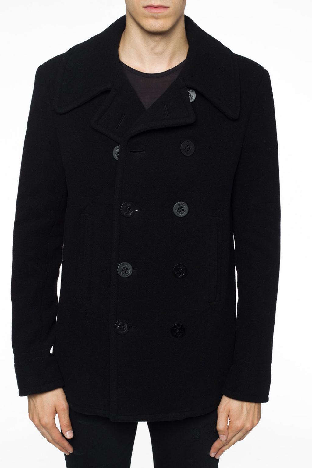 1ddaf9e2ae127 Margiela For Lyst Breasted Maison Men Black In Double Jacket PwwHgSq