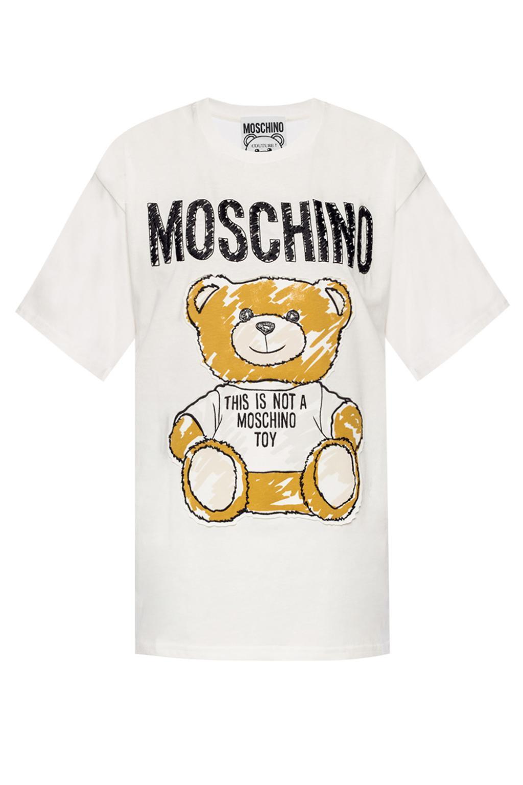 4f92b7af6 Moschino - Multicolor Teddy Bear T-shirt - Lyst. View fullscreen