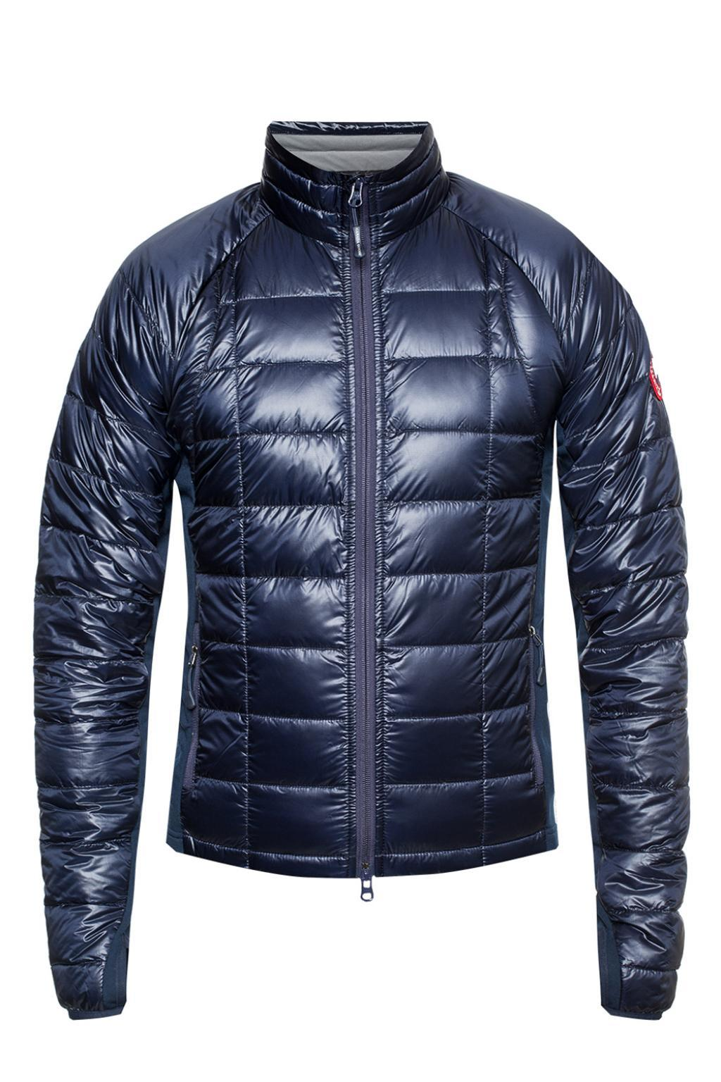 lyst canada goose hybridge lite quilted down jacket with band rh lyst com