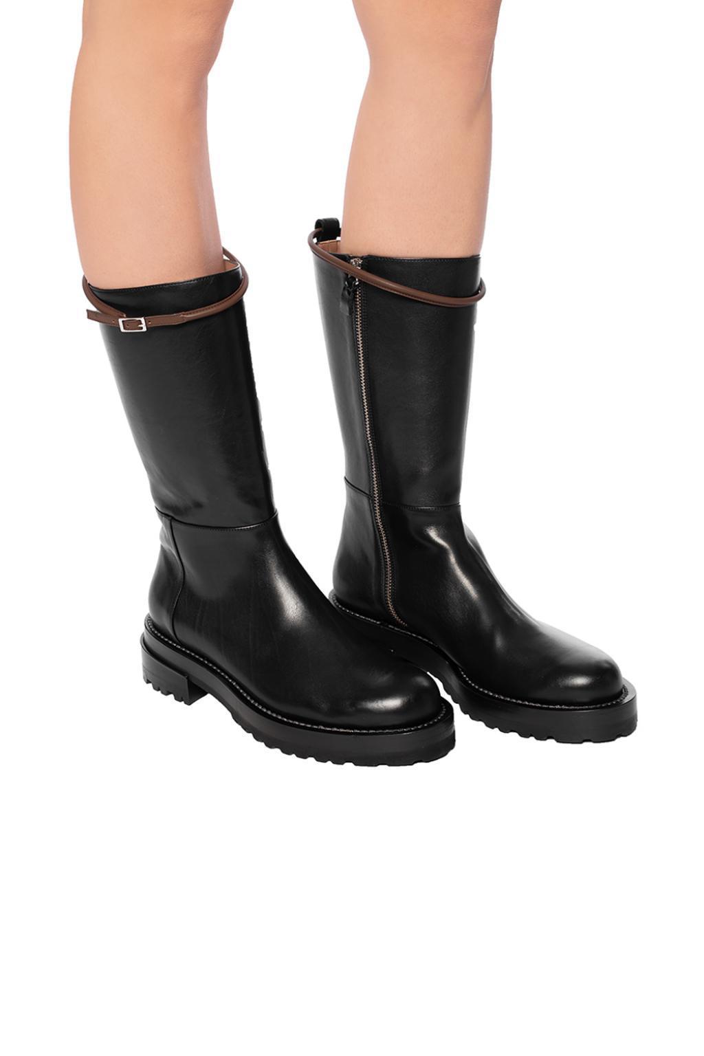 6dbb05455d60 Marni - Black Embellished Ankle Boots - Lyst. View fullscreen