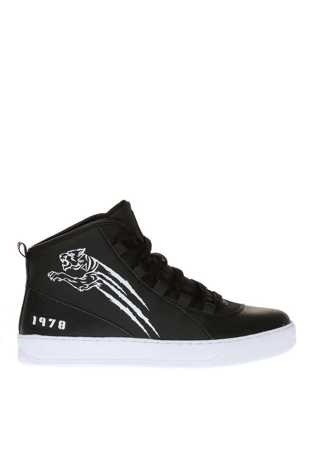 studded lace-up sneakers - Metallic Plein Sport kQ8m85w