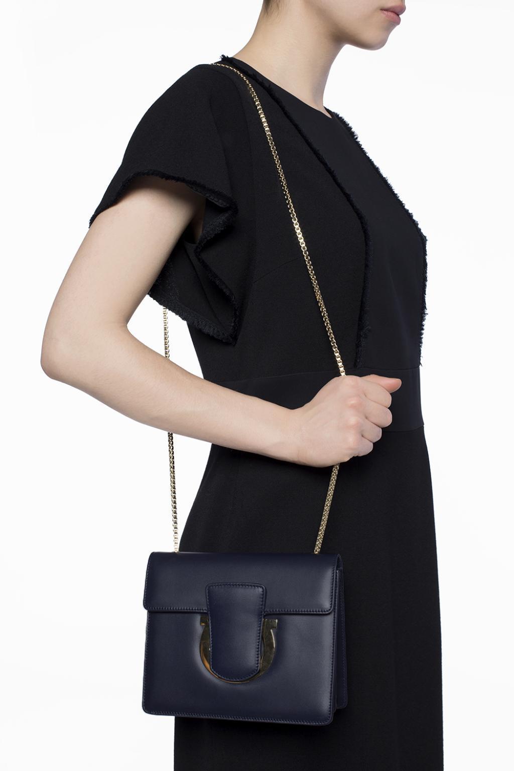 eaed25602e Lyst - Ferragamo  thalia  Shoulder Bag in Blue