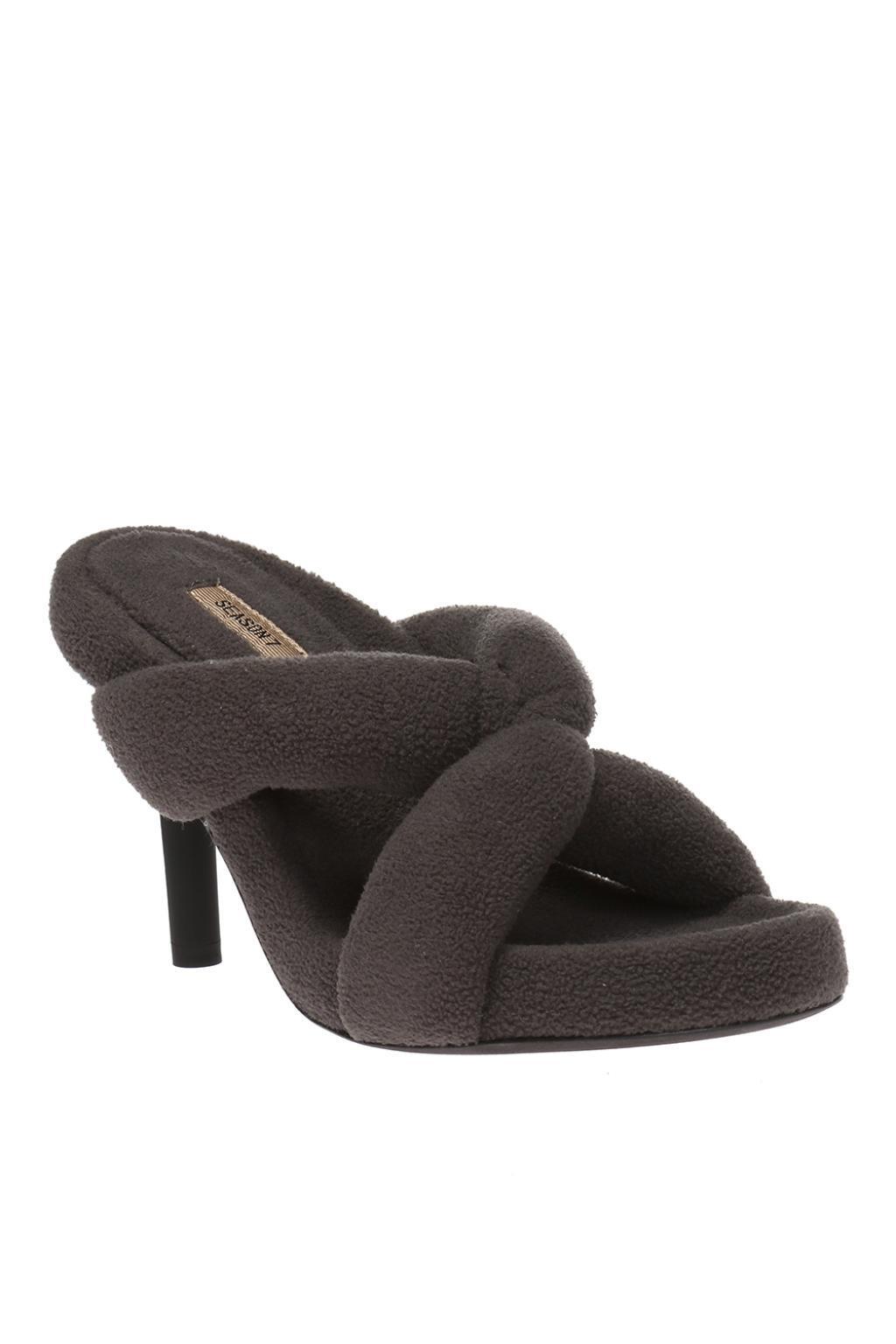 061b829ce93 Yeezy - Gray Stiletto Slippers - Lyst. View fullscreen