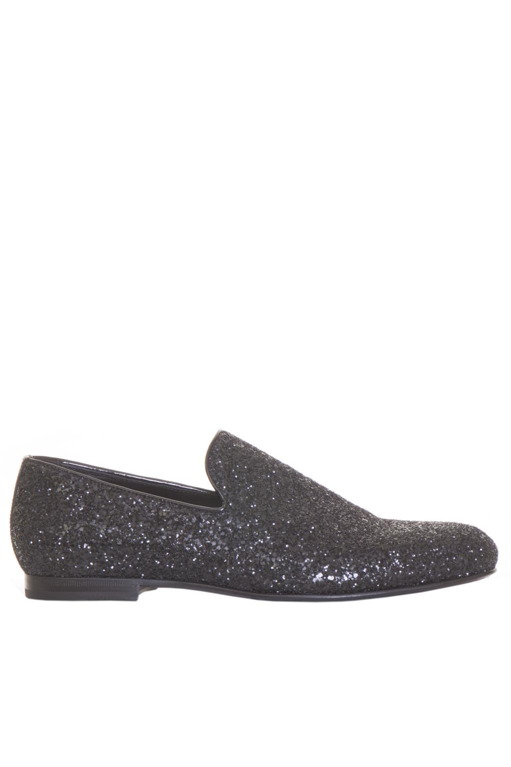 Jimmy choo Suede Studded Sloane Loafers