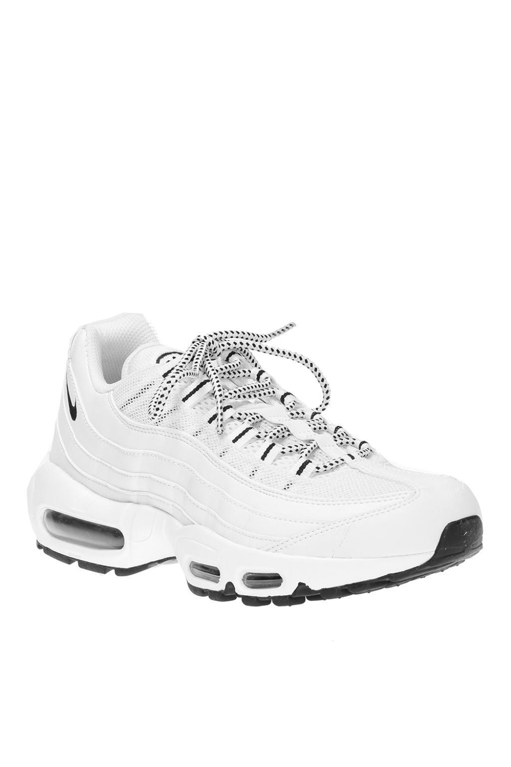 a46bc40fe Nike - White  air Max 95  Sneakers for Men - Lyst. View fullscreen