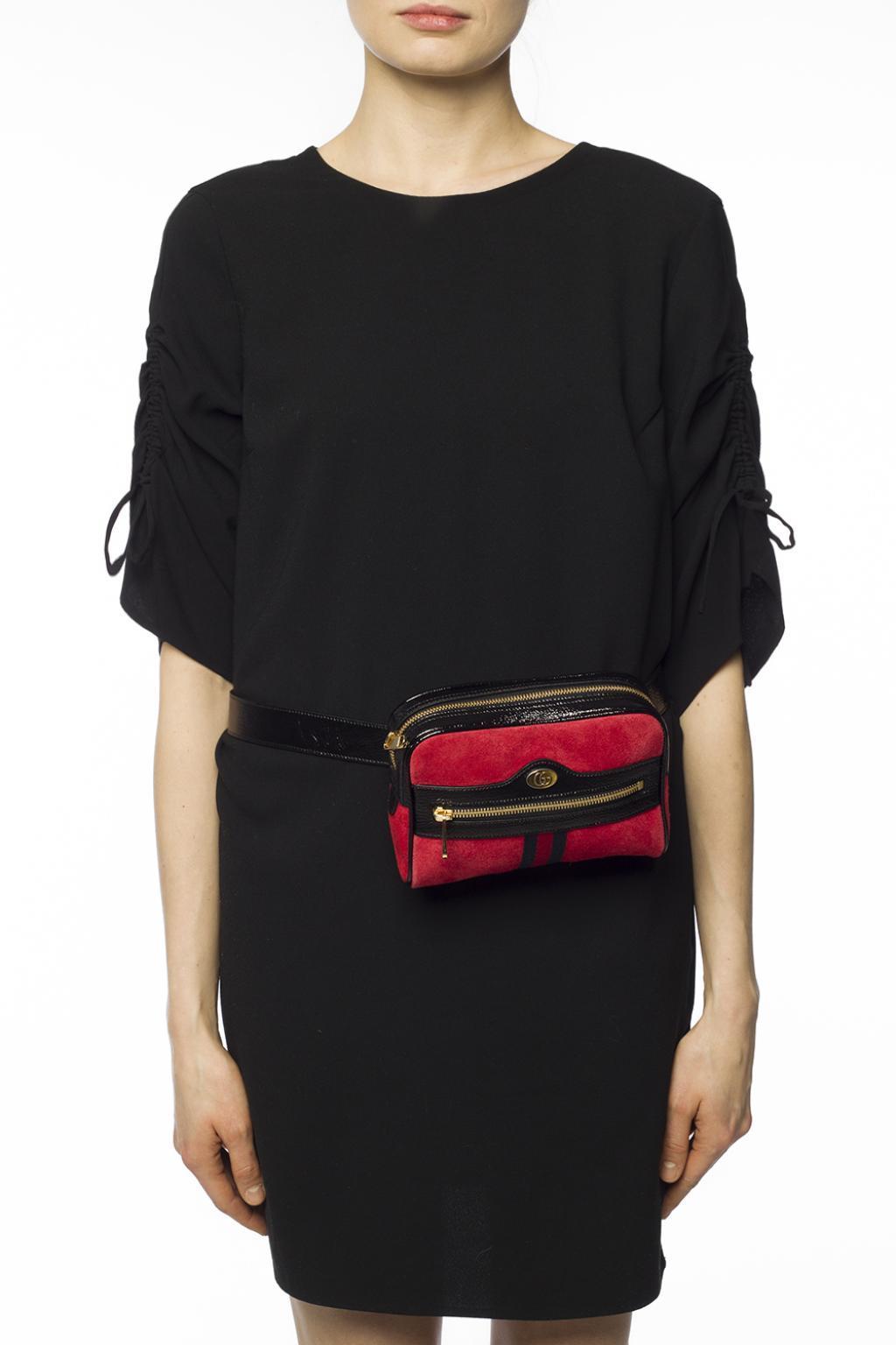 eb8266fc0a4fd5 Gucci - Red 'ophidia' Belt Bag for Men - Lyst. View fullscreen