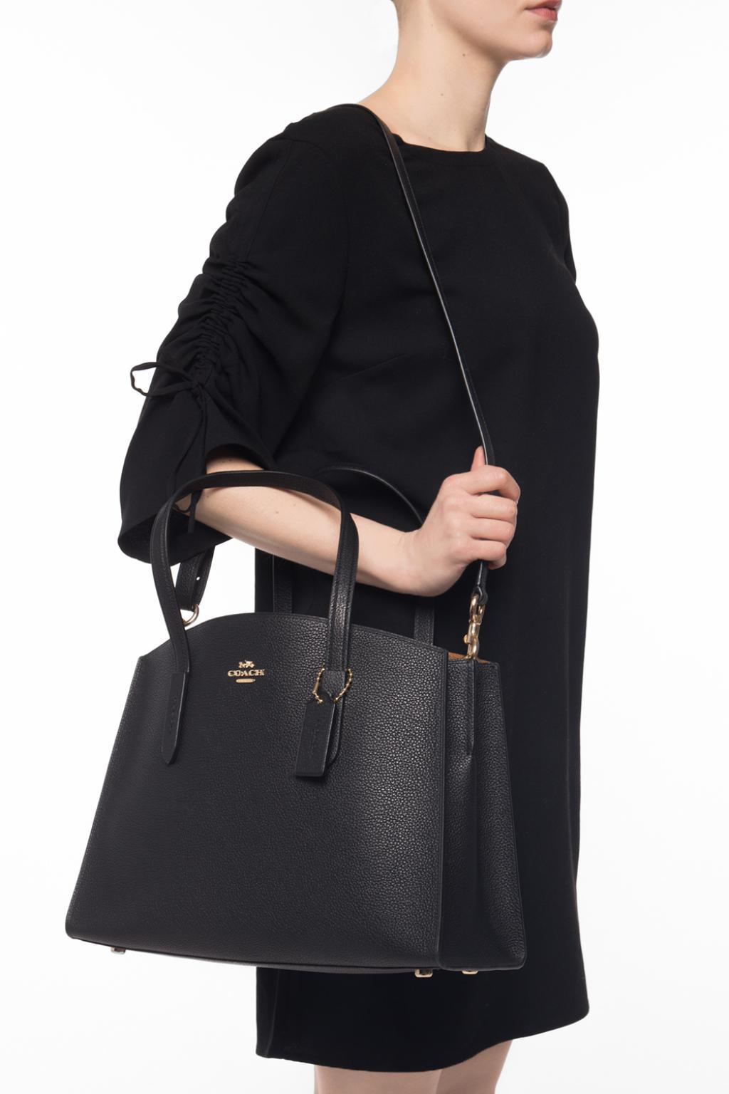 0ff49b65f3 Lyst - COACH  charlie Carryall  Shoulder Bag in Black