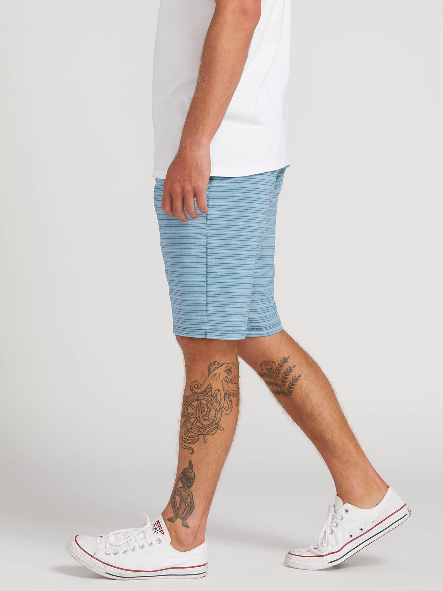 f1bcbf8a48 Volcom - Blue Frickin Surf N' Turf Mix Hybrid Shorts for Men - Lyst. View  fullscreen