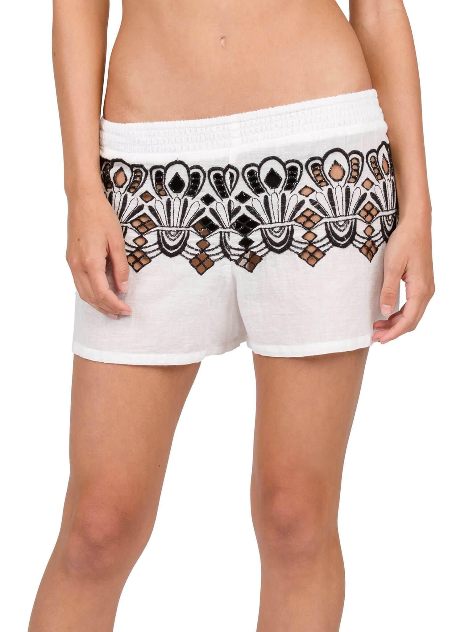 8acc74c86e Lyst - Volcom Friends Forever Shorts in White - Save 42.5%