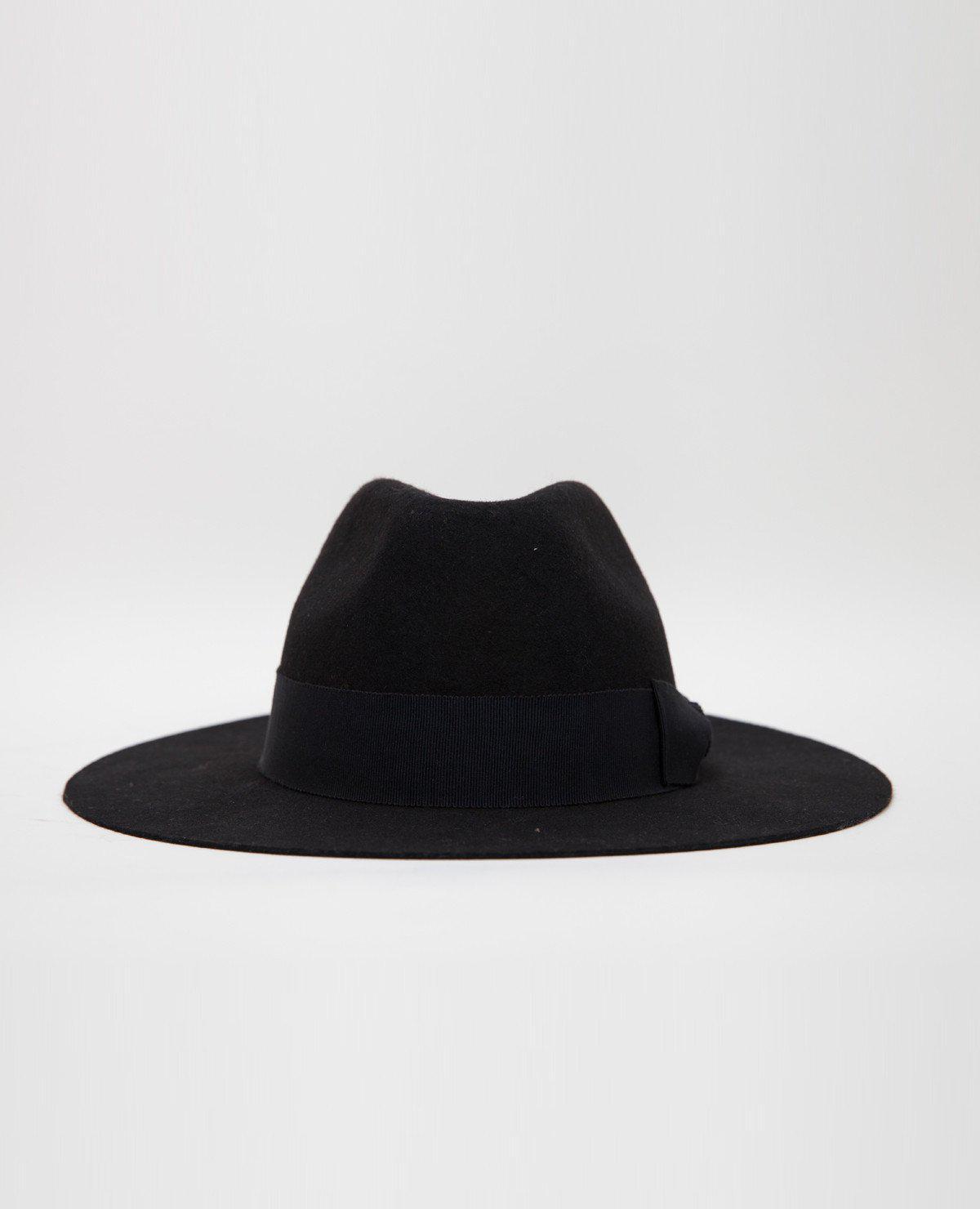 3e2a1bd13f63c Soulland Bille Fedora Hat   Black in Black - Lyst