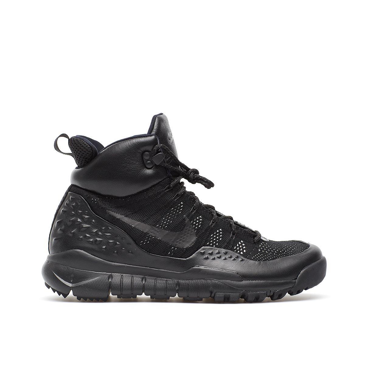 175f367d4903 Lyst - Nike Lupinek Flyknit in Black for Men
