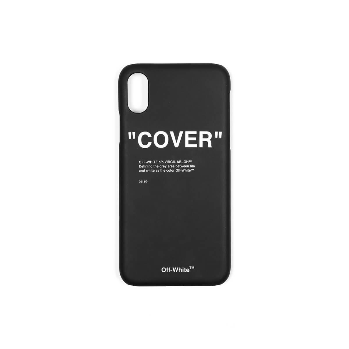 7187ced5664e Lyst - Off-White C O Virgil Abloh Iphone X Quote Case in Black for Men