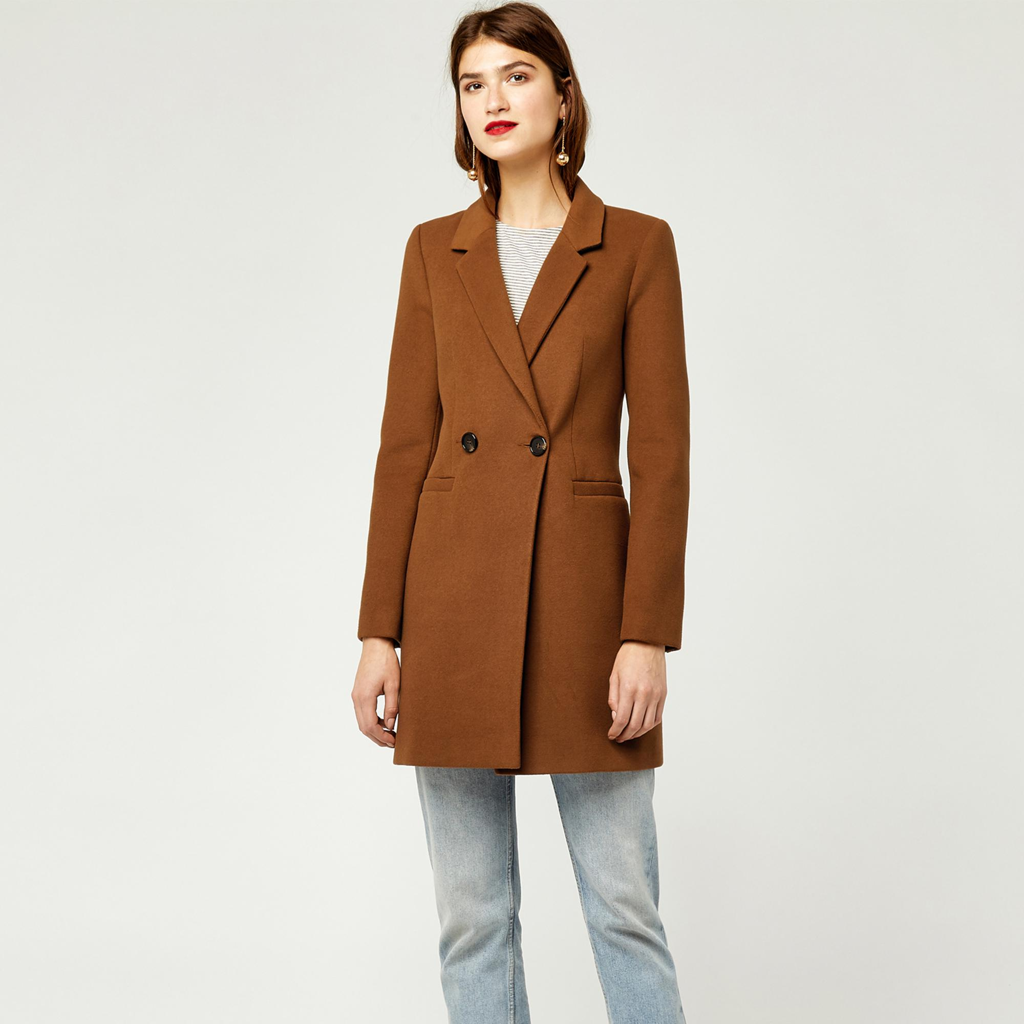 cheaper beautiful style convenience goods Warehouse Brown Clean Crombie