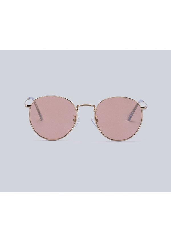 54b92c744f Genzie Saturn Tint Sunglasses Gold Pink in Pink - Lyst