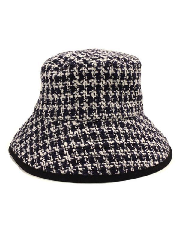 fec27ab38f7 Lyst - SLEEPYSLIP  unisex  Glencheck Navy Bucket Hat in Blue