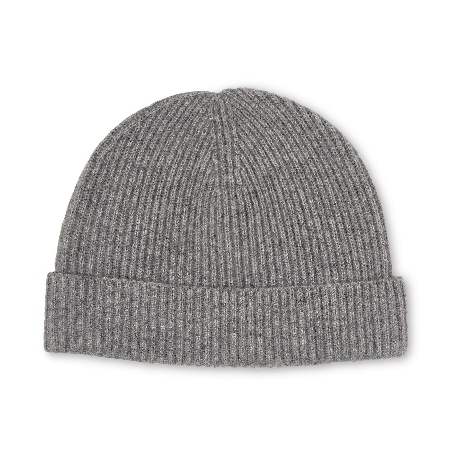 e71ee238afb Lyst - Whistles Cashmere Beanie in Gray - Save 88.83572567783094%
