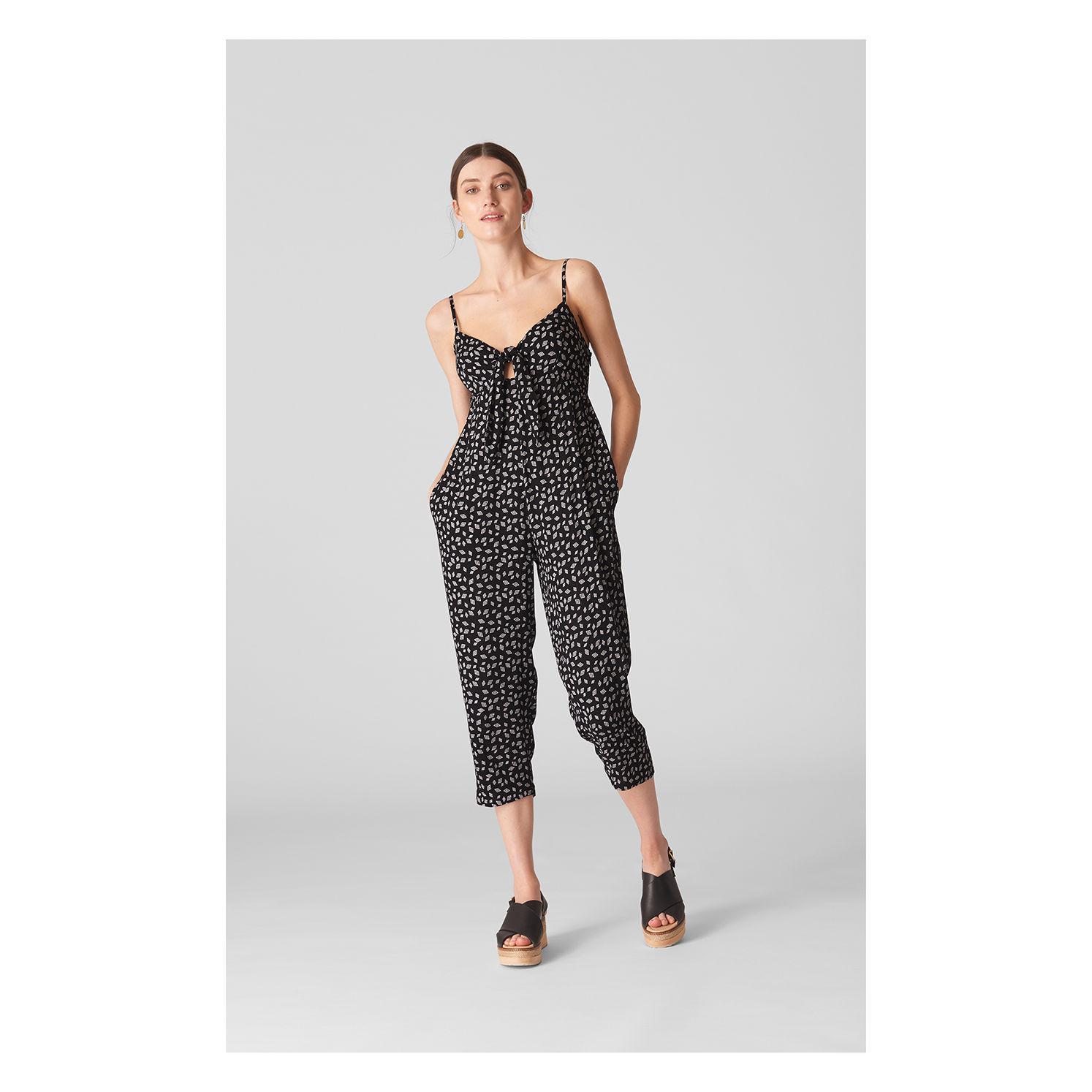 380e71607739 Whistles - Multicolor Lienne Gobi Print Jumpsuit - Lyst. View fullscreen