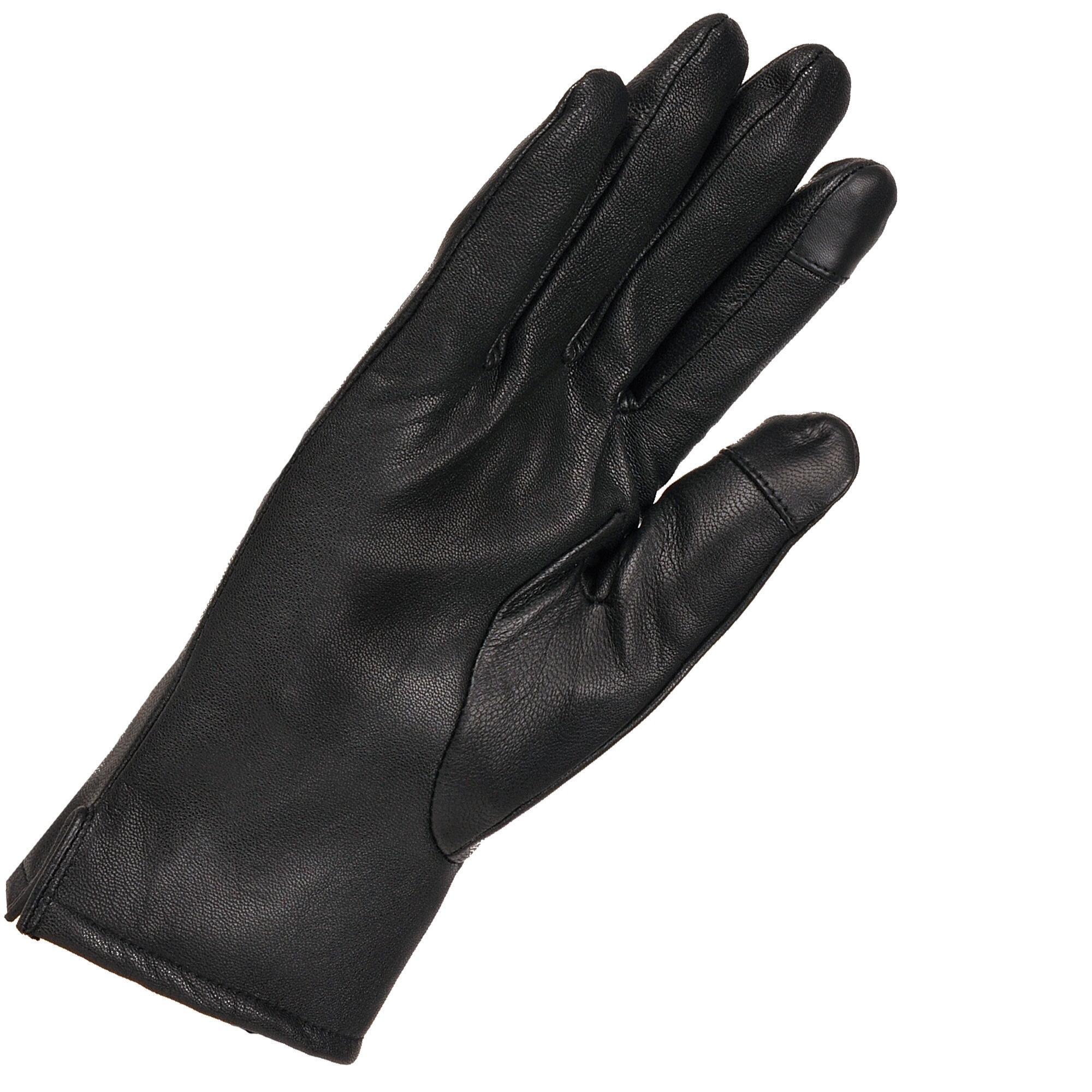 Leather work gloves with thinsulate lining - View Fullscreen