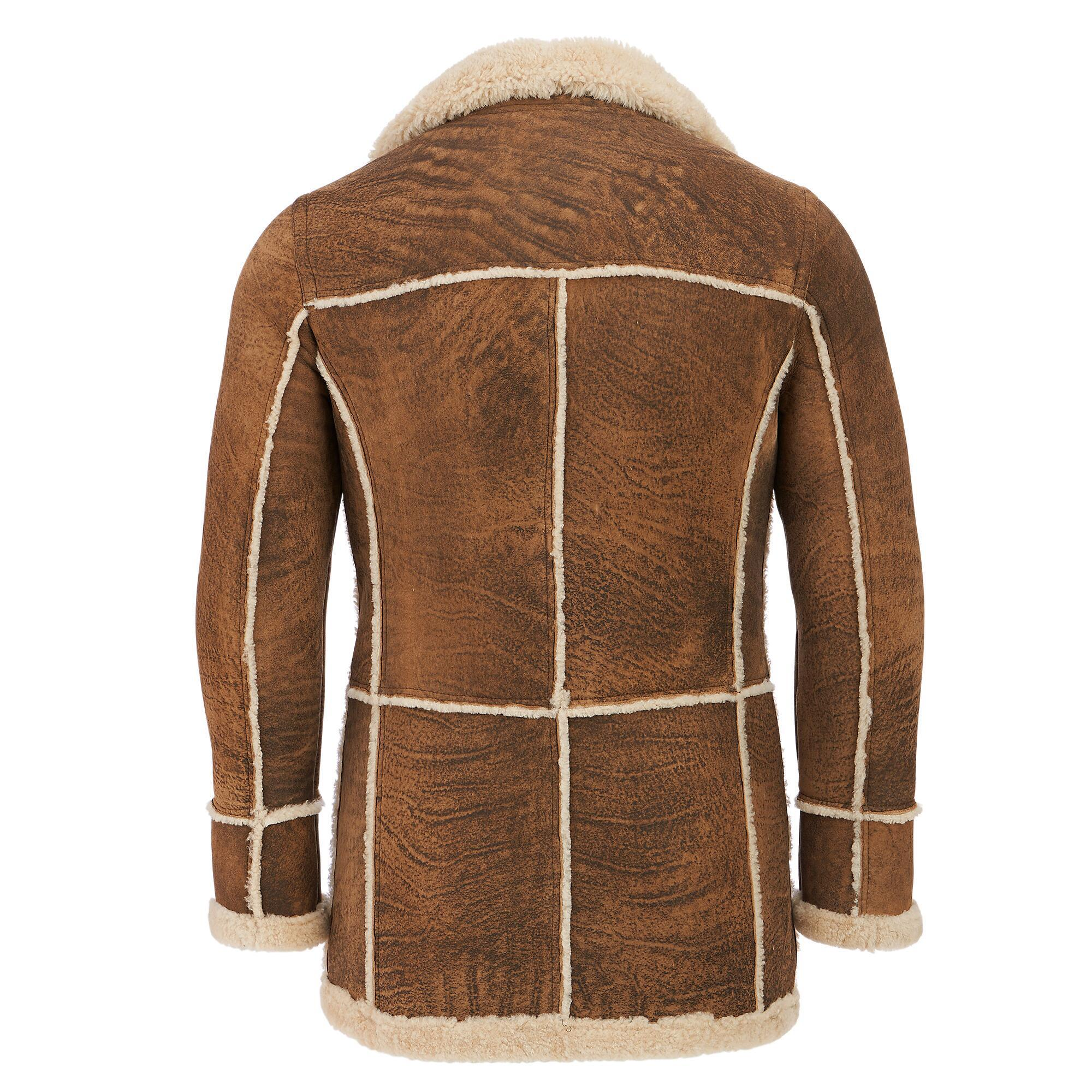 4d4efd005ad7 Wilsons Leather Marlboro Shearling Leather Jacket in Brown for Men ...