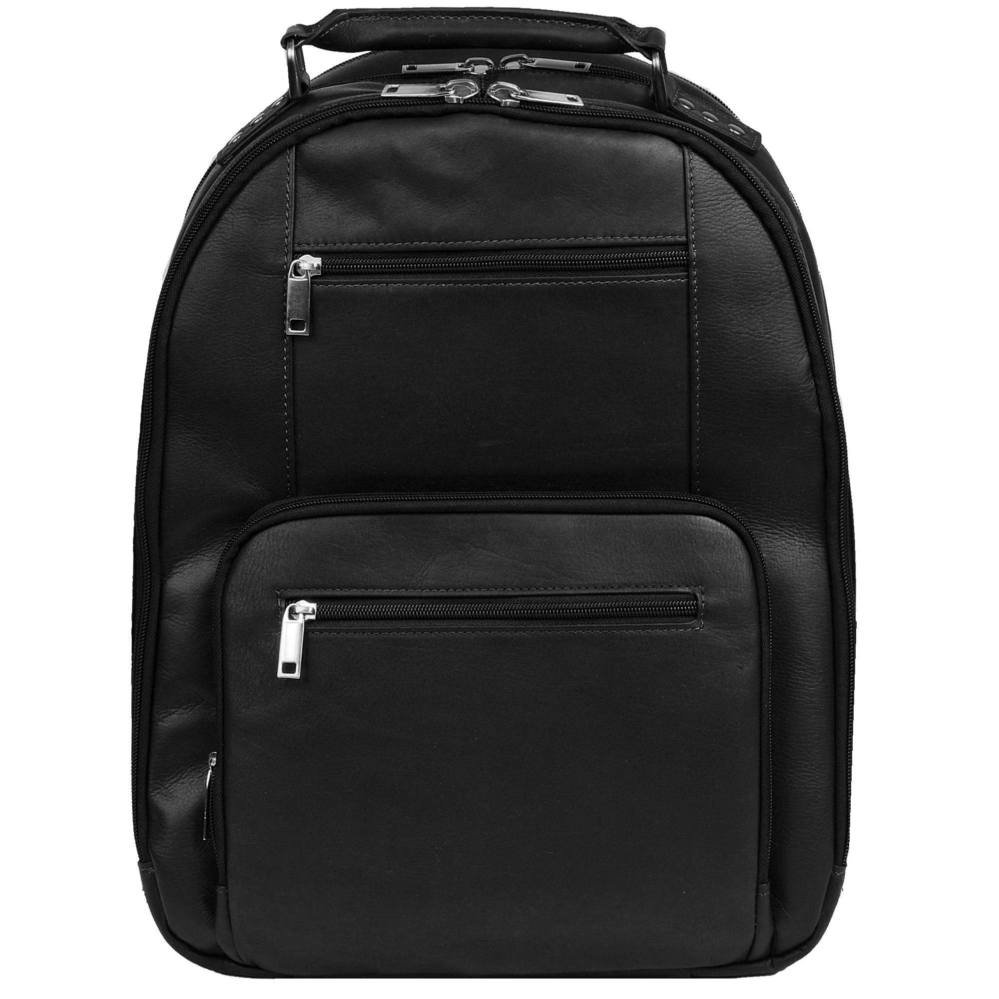 Wilsons leather Vacqueta Leather Laptop Backpack in Black | Lyst