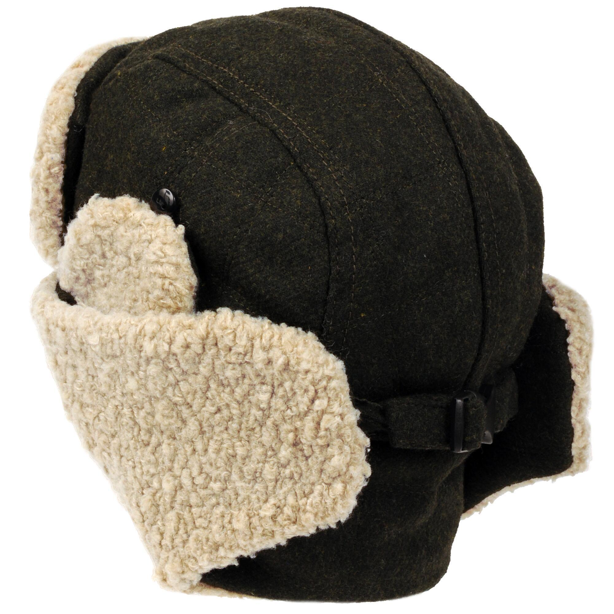 df00d447225 Lyst - Wilsons Leather Quilted Trapper Hat W  Faux-sherpa in Green ...