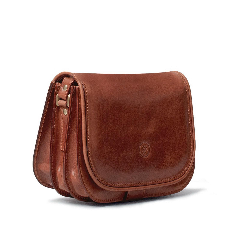 Lyst - Maxwell Scott Bags Luxury Italian Leather Women s Saddlebag ... cf6ce54d73687