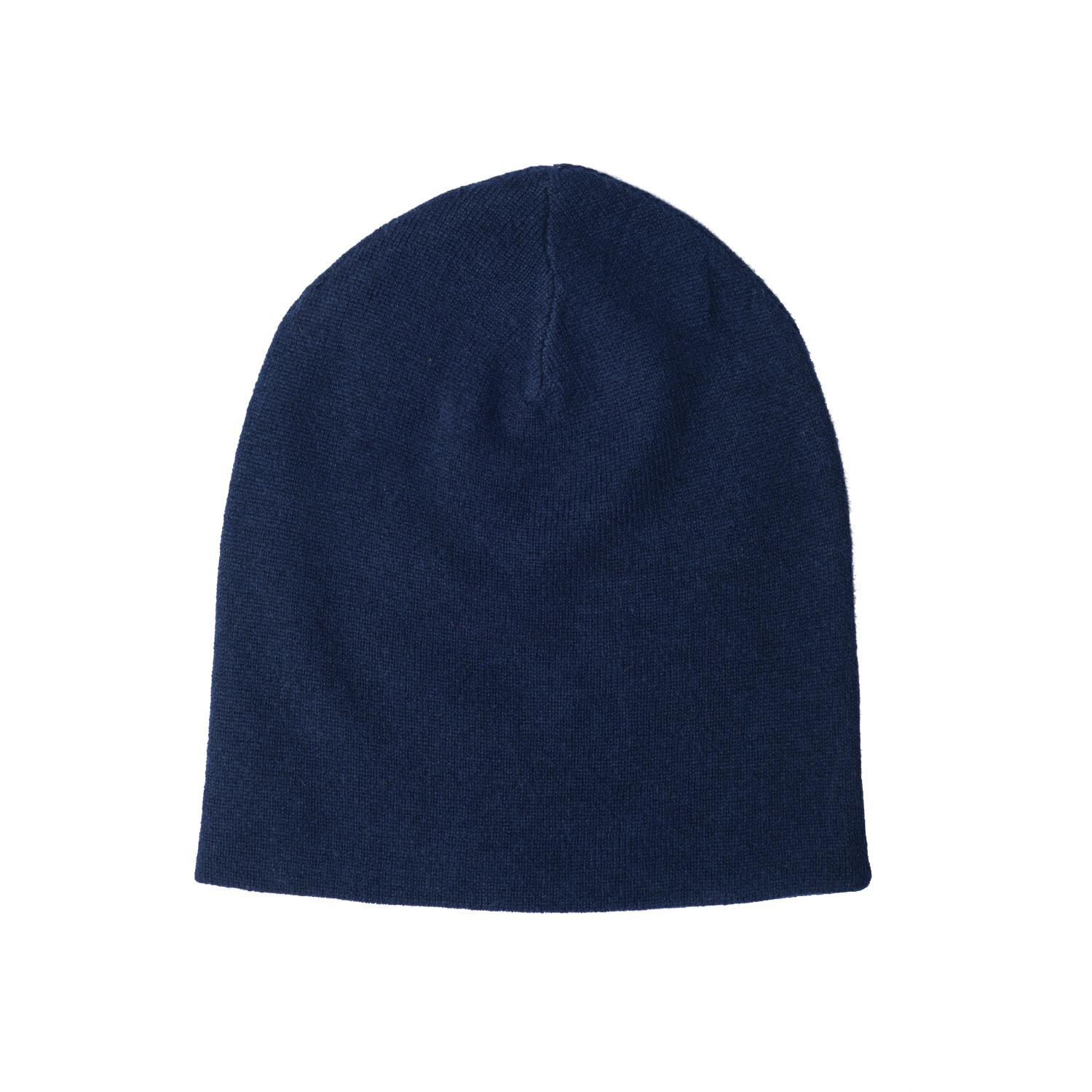 8a31a1a1279 Lyst - Orwell + Austen Cashmere Cashmere Beanie In Navy in Blue