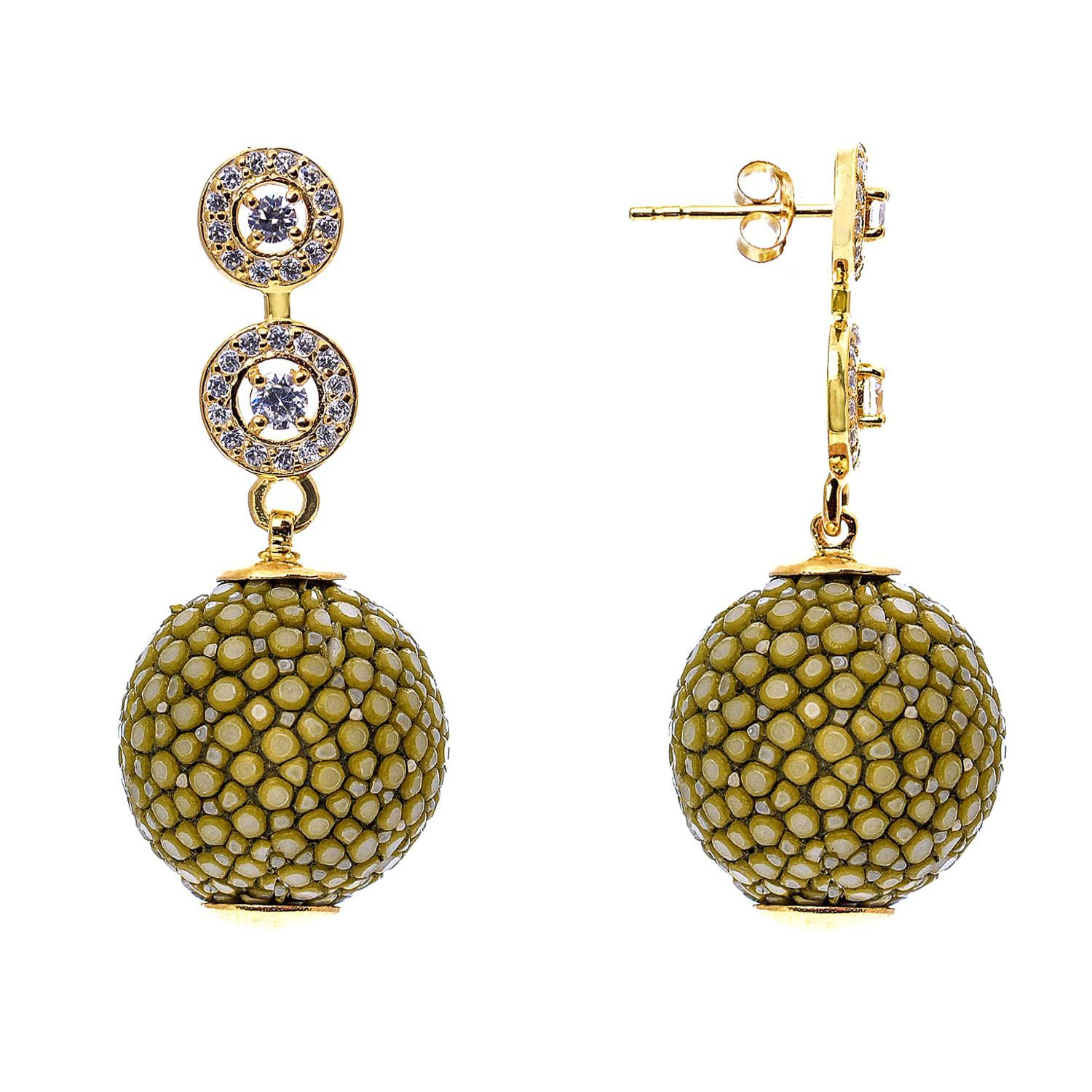 Latelita London Stingray Ball Earring Ocean Xh73uEy25m
