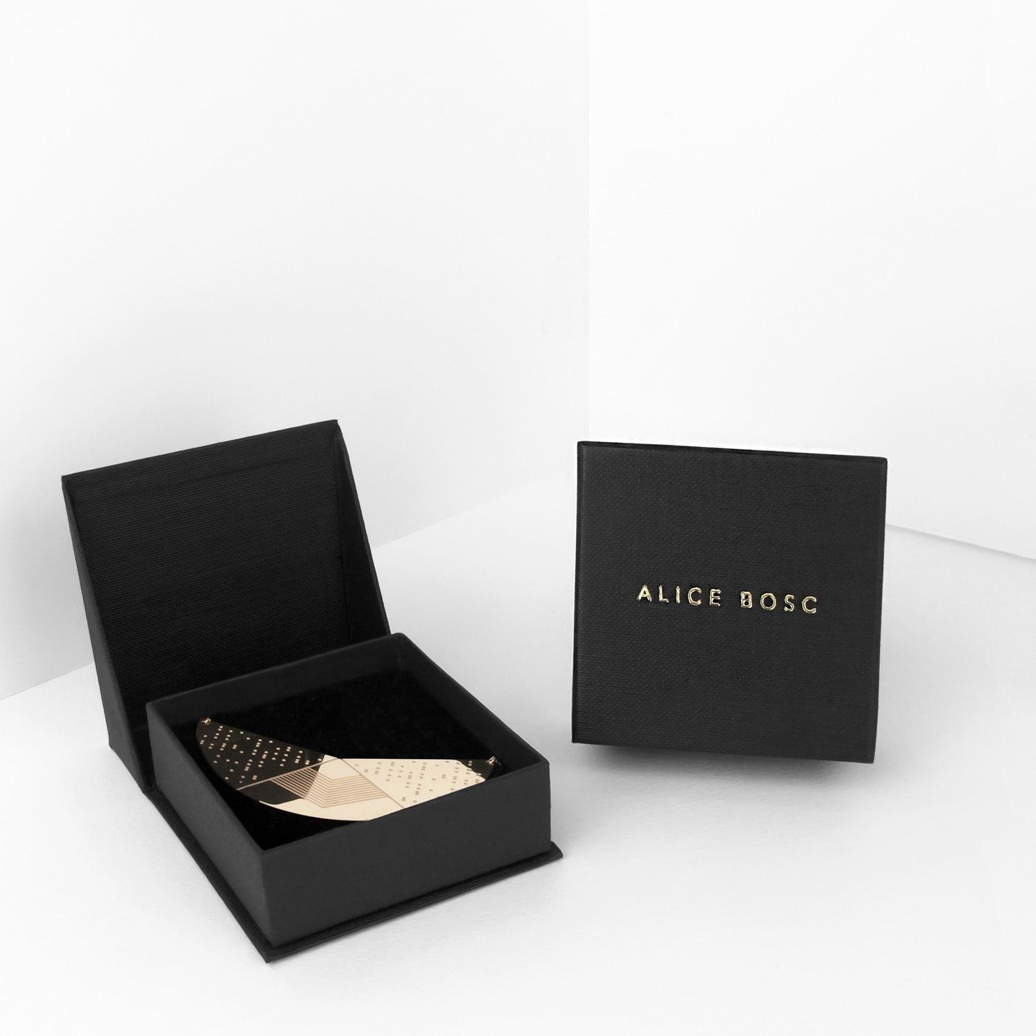 Alice bosc clay rose gold lyst for Tj maxx jewelry box