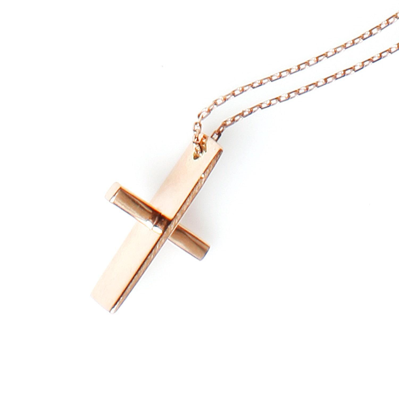 MyriamSOS Os & Xs Cross Necklace 2ewMYOl