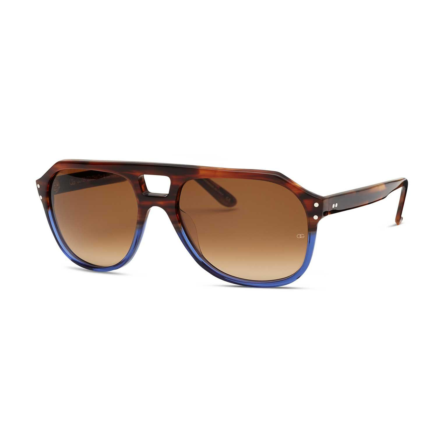 15ae3fac8001 Lyst - Oliver Goldsmith Glyn Blue Sea Bed in Brown for Men