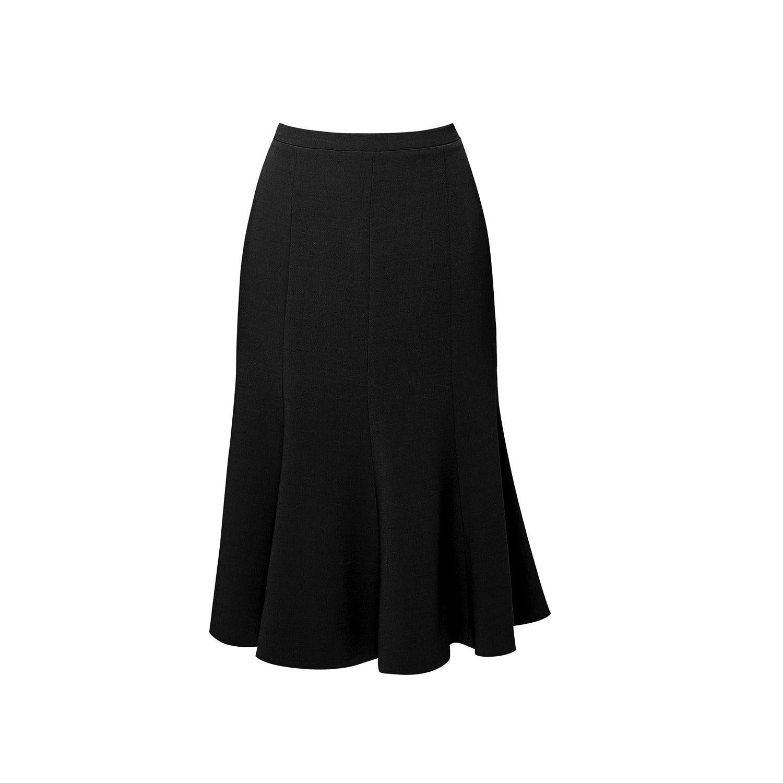 50b50dcb48 Lyst - Rumour London Lucy Wool Midi Skirt In Black in Black